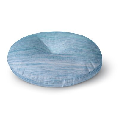 Catherine McDonald South Pacific II Ocean Water Round Floor Pillow Size: 26 x 26
