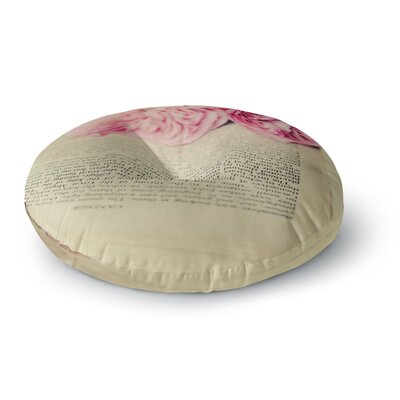 Cristina Mitchell A Good Read Round Floor Pillow Size: 26 x 26