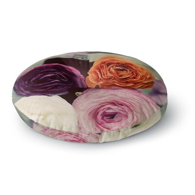 Cristina Mitchell Four Kinds of Beauty Roses Round Floor Pillow Size: 26 x 26