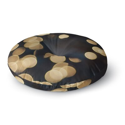 Cristina Mitchell Blur Lights Round Floor Pillow Size: 26 x 26