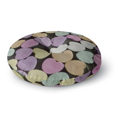 Cristina Mitchell Candy Love Photography Round Floor Pillow Size: 26 x 26