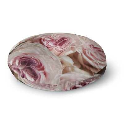Cristina Mitchell Roses Floral Round Floor Pillow Size: 26 x 26