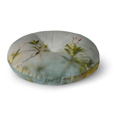 Cristina Mitchell Oleander Nature Photography Round Floor Pillow Size: 26 x 26