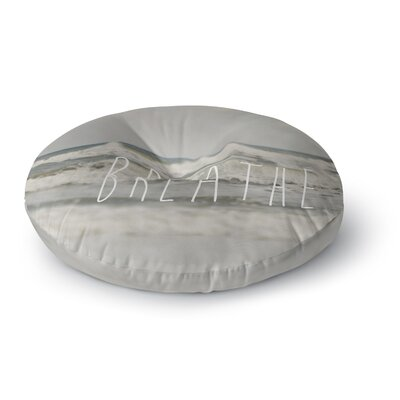 Cristina Mitchell Breathe Floral Photography Round Floor Pillow Size: 23 x 23