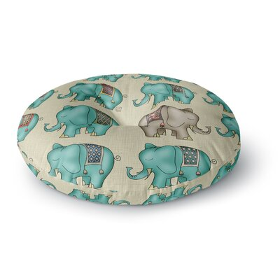 Carina Povarchik Dreamy Ellie Art Object Round Floor Pillow Size: 26 x 26