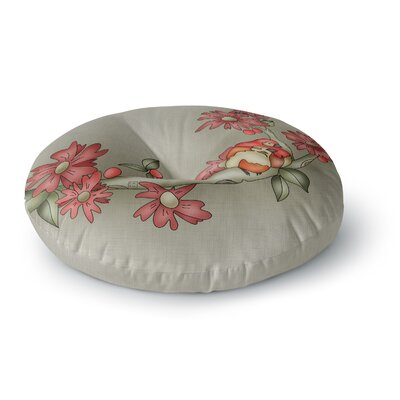 Carina Povarchik Feng Shui Round Floor Pillow Size: 26 x 26