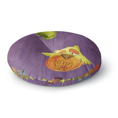 Carina Povarchik Owl Balloon Round Floor Pillow Size: 23 x 23