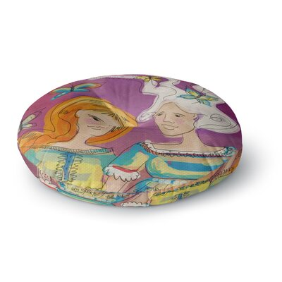 Carina Povarchik Amigas People Round Floor Pillow Size: 23 x 23