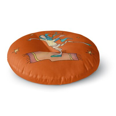 Carina Povarchik Being Free Round Floor Pillow Size: 26 x 26