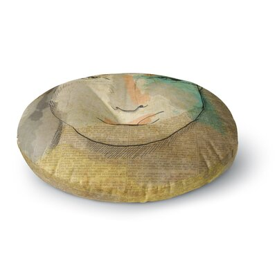Carina Povarchik Agata People Round Floor Pillow Size: 26 x 26