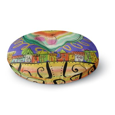 Carina Povarchik Sun Round Floor Pillow Size: 23 x 23