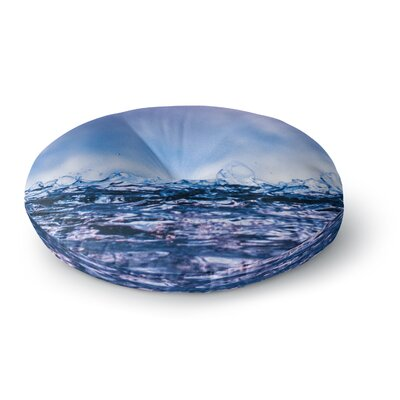 Colin Pierce Falling Sky Photography Round Floor Pillow Size: 23 x 23