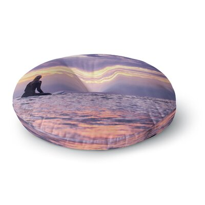 Colin Pierce Soul Search Photography Round Floor Pillow Size: 23 x 23