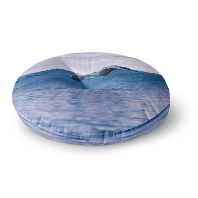 Colin Pierce Sky Surfers Photography Round Floor Pillow Size: 23 x 23
