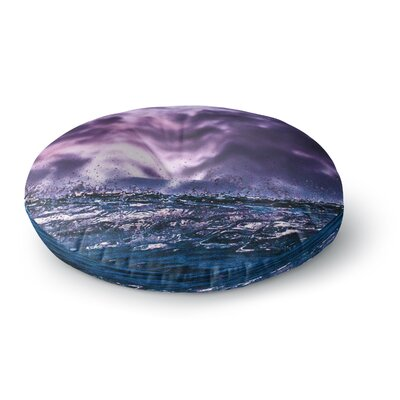 Colin Pierce Grape Drops Photography Round Floor Pillow Size: 23 x 23