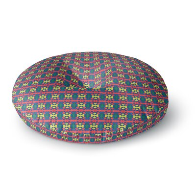 Empire Ruhl Delilah Pattern Round Floor Pillow Size: 26 x 26