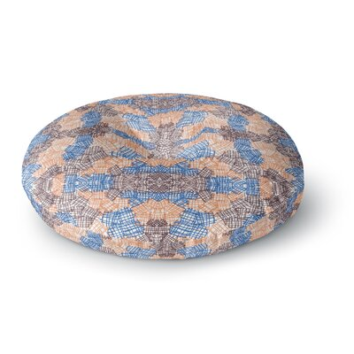 Empire Ruhl Forest Round Floor Pillow Size: 26 x 26