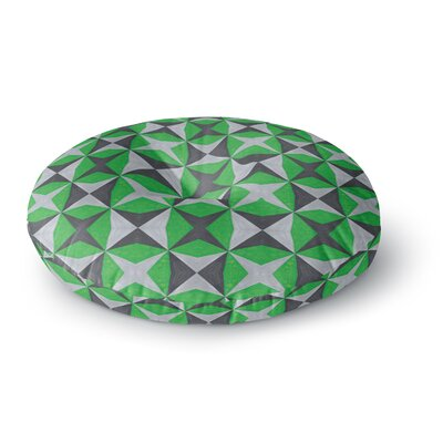Empire Ruhl Abstract Round Floor Pillow Size: 23 x 23