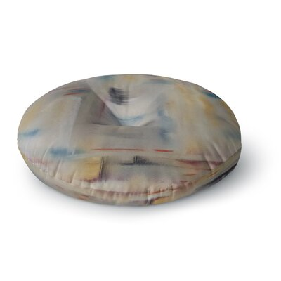 Cathy Rodgers Library Painting Abstract Round Floor Pillow Size: 23 x 23