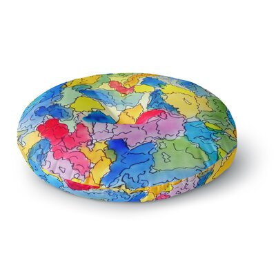 Cathy Rodgers Explorer Round Floor Pillow Size: 23 x 23