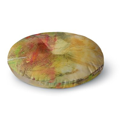 Carol Schiff Poppyfield Round Floor Pillow Size: 23 x 23