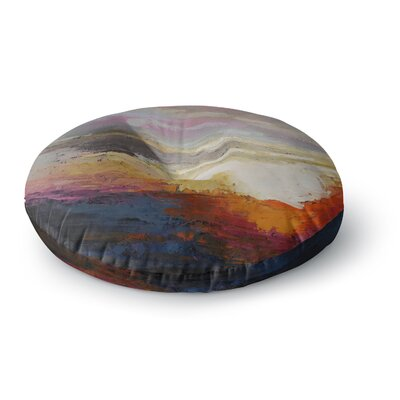 Carol Schiff Georgia Morning Nature Round Floor Pillow Size: 23 x 23