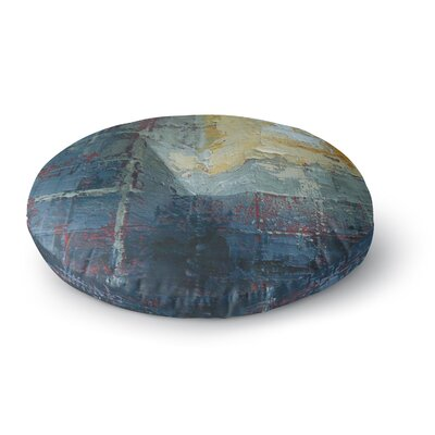 Carol Schiff Indecision Round Floor Pillow Size: 26 x 26