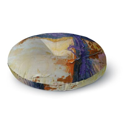 Carol Schiff Royal Colors Round Floor Pillow Size: 23 x 23