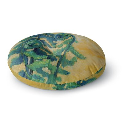 Carol Schiff Fiddleheads Round Floor Pillow Size: 23 x 23