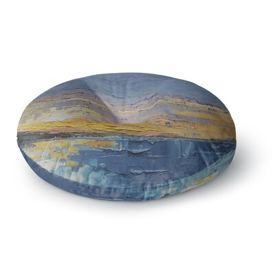 Carol Schiff Caribbean Sunset Round Floor Pillow Size: 26 x 26