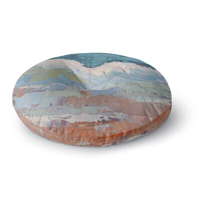 Carol Schiff Surf Dreams Painting Round Floor Pillow Size: 26 x 26