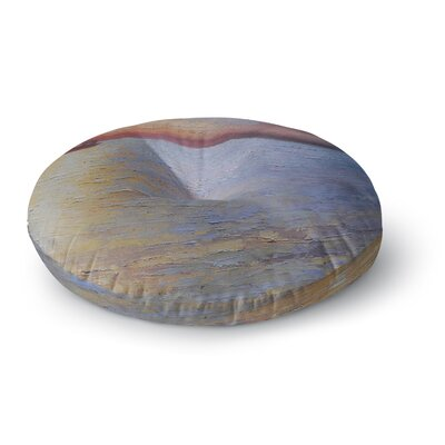 Carol Schiff Evening Anchor Painting Round Floor Pillow Size: 23 x 23
