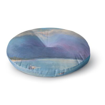 Carol Schiff Heading Out Nature Round Floor Pillow Size: 26 x 26