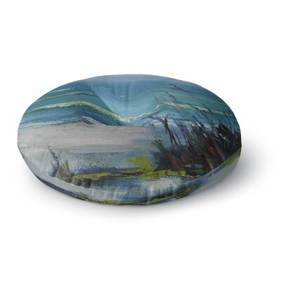 Carol Schiff Sanibel Painting Round Floor Pillow Size: 26 x 26