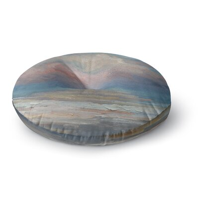 Carol Schiff Clouds Round Floor Pillow Size: 23 x 23
