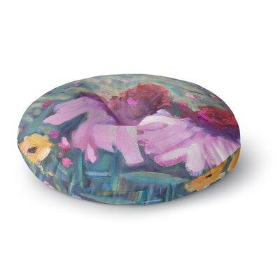 Carol Schiff Woodland Fantasy Round Floor Pillow Size: 26 x 26