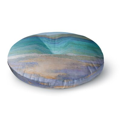 Carol Schiff Caribbean Dream Painting Round Floor Pillow Size: 23 x 23