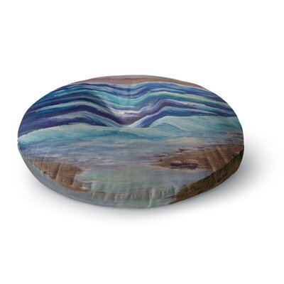 Cyndi Steen Beach Dreams Round Floor Pillow Size: 26 x 26