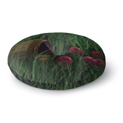 Cyndi Steen Todays Therapy Round Floor Pillow Size: 26 x 26