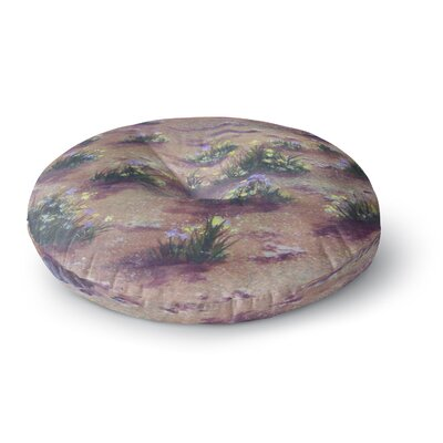 Cyndi Steen Desert Weeds Round Floor Pillow Size: 23 x 23