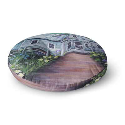Cyndi Steen Ivy Cottage Again Round Floor Pillow Size: 26 x 26