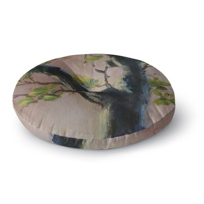 Cyndi Steen Aussie Tree Nature Round Floor Pillow Size: 23 x 23