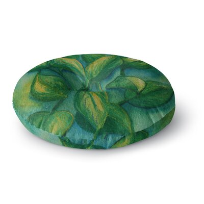 Cyndi Steen Beginnings Nature Round Floor Pillow Size: 26 x 26