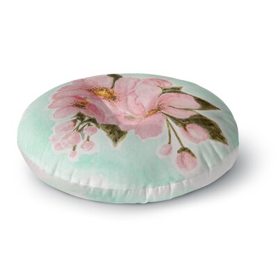 Christen Treat Fumiko Round Floor Pillow Size: 23 x 23