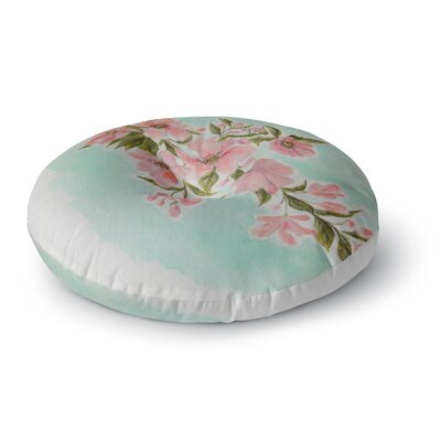 Christen Treat Chieko Round Floor Pillow Size: 26 x 26