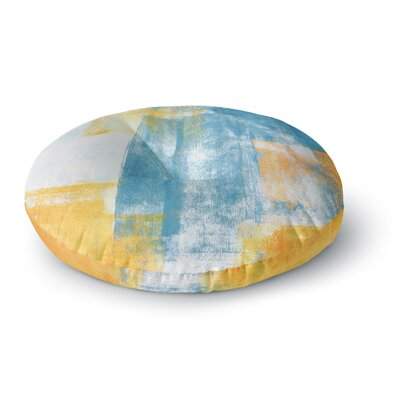 CarolLynn Tice Color Combo Round Floor Pillow Size: 26 x 26