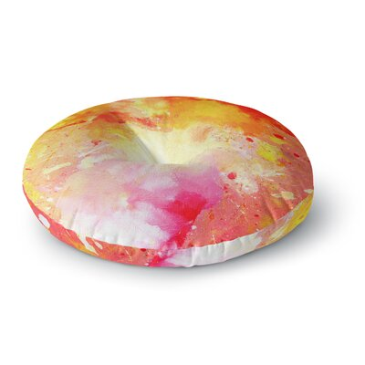CarolLynn Tice Splash Round Floor Pillow Size: 26 x 26