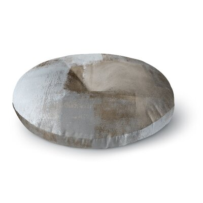 CarolLynn Tice Calm and Neutral Round Floor Pillow Size: 23 x 23