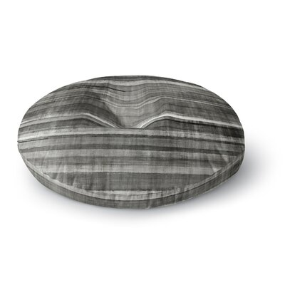 CarolLynn Tice Simplicity Light Round Floor Pillow Size: 23 x 23, Color: Gray
