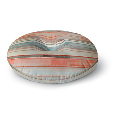 CarolLynn Tice Patton Round Floor Pillow Size: 23 x 23